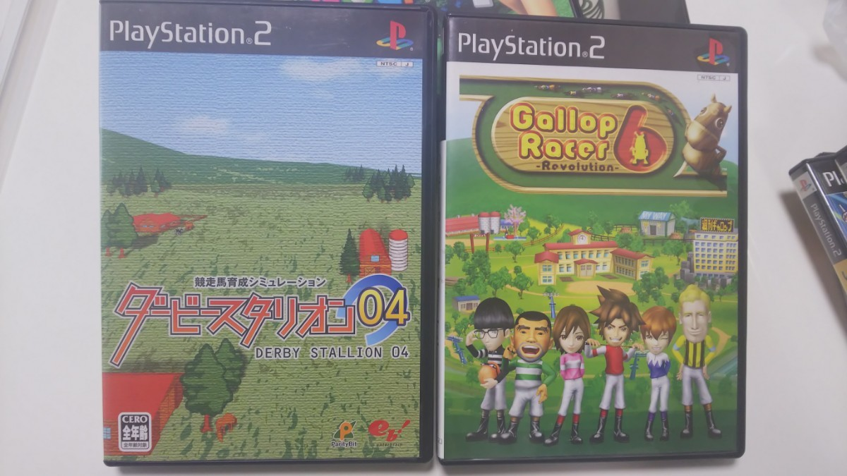 PlayStation2 ダービースタリオン04 gallopracer ホースブレーカー  PS2  PS2ソフト