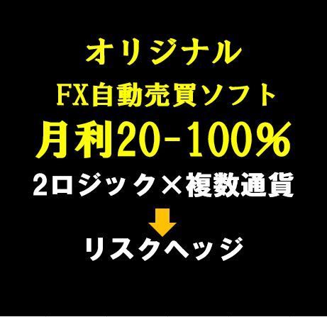 今だけ1万円値下げキャンペーン!【限定】月利20-100% FXオリジナル自動売買ソフト_画像1