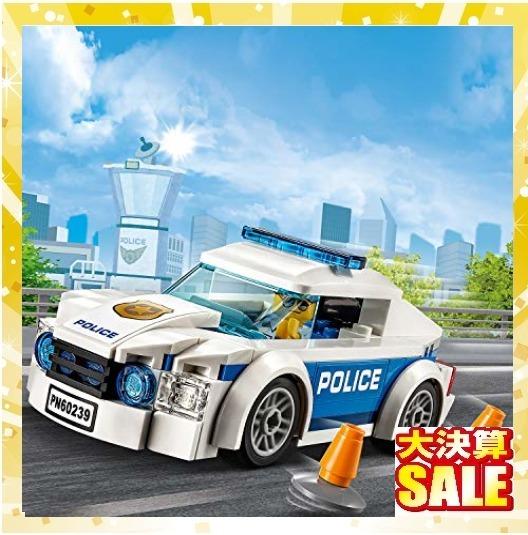 【新品 早い者勝ち】レゴ(LEGO) シティ ポリスパトロールカー 60239 ブロック おもちゃ 男の子 車_画像2