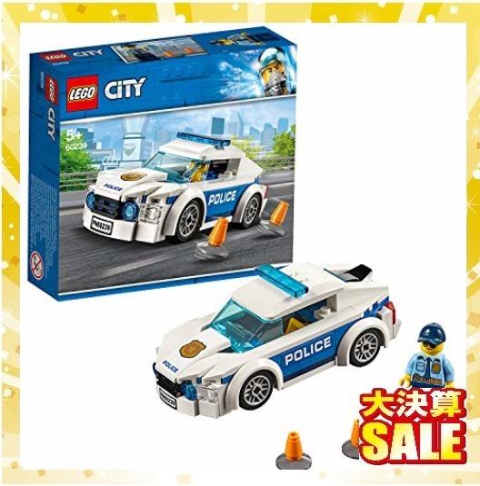 【新品 早い者勝ち】レゴ(LEGO) シティ ポリスパトロールカー 60239 ブロック おもちゃ 男の子 車_画像1