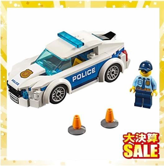 【新品 早い者勝ち】レゴ(LEGO) シティ ポリスパトロールカー 60239 ブロック おもちゃ 男の子 車_画像3