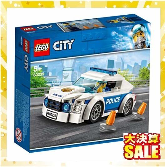 【新品 早い者勝ち】レゴ(LEGO) シティ ポリスパトロールカー 60239 ブロック おもちゃ 男の子 車_画像7