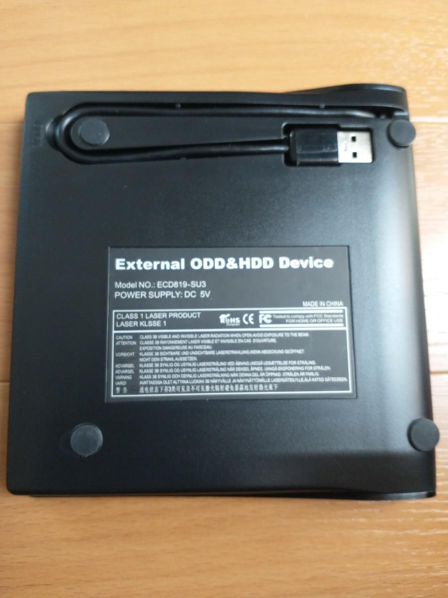 外付けDVDドライブ USB3.0 Windows
