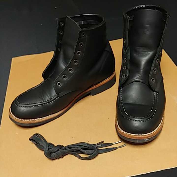 Pistolero Boots 6inch MOC ピストレロ 6インチ モックトゥ ブーツ size us9.5 27.5cm_画像1
