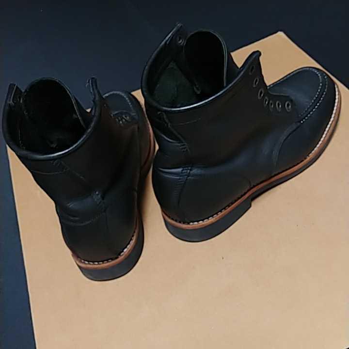 Pistolero Boots 6inch MOC ピストレロ 6インチ モックトゥ ブーツ size us9.5 27.5cm_画像2