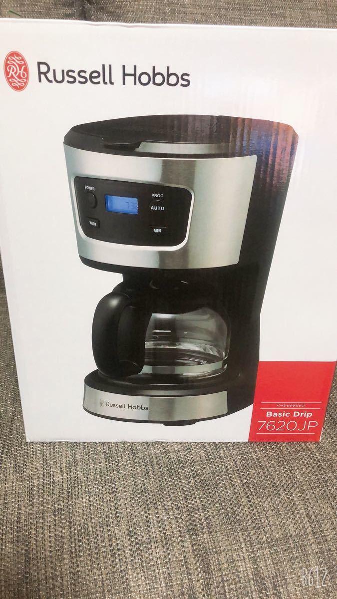 新品未開封未使用品 Russell Hobbs  ラッセルホブス 7620JP ドリップコーヒーメーカー 保証期間内補償付