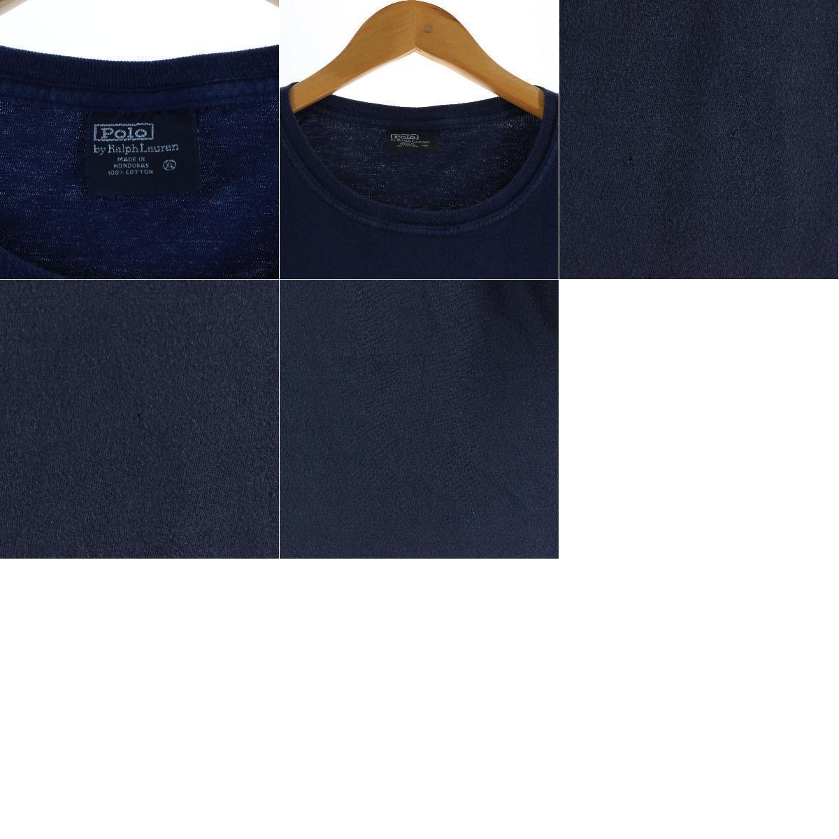 ラルフローレン Ralph Lauren POLO by Ralph Lauren 半袖 ワンポイントロゴTシャツ メンズXL /eaa165394_画像3