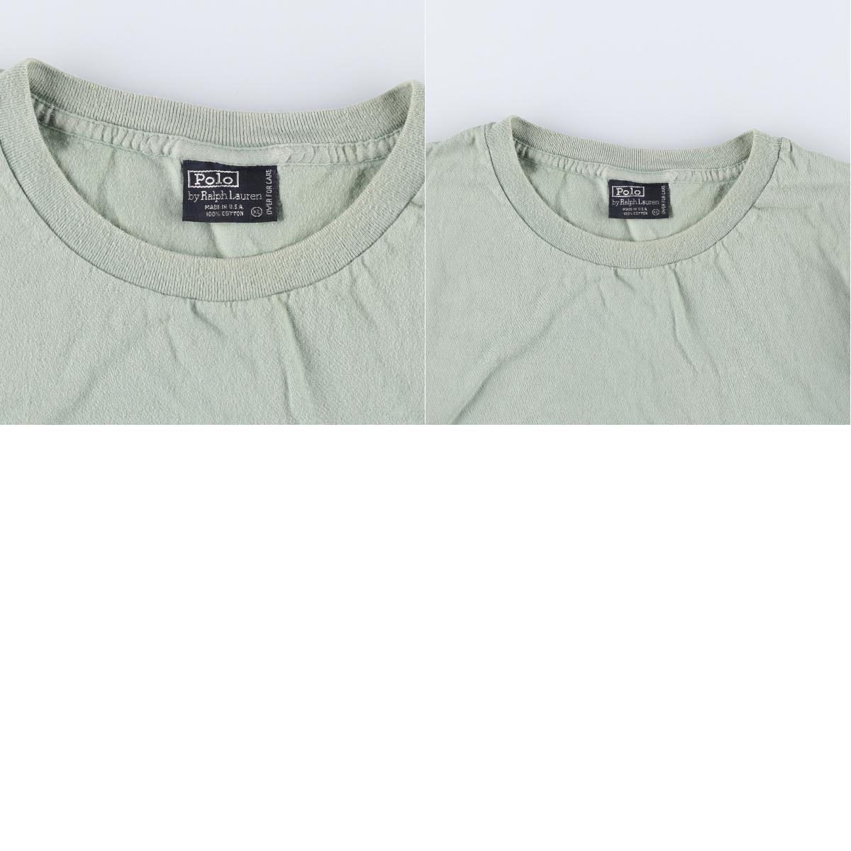 90年代 ラルフローレン POLO by Ralph Lauren 半袖 ワンポイントロゴポケットTシャツ USA製 メンズXL ヴィンテージ /eaa168347_画像3