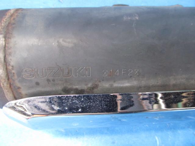 スカイウェイブ250 CJ42A 純正マフラー_画像9