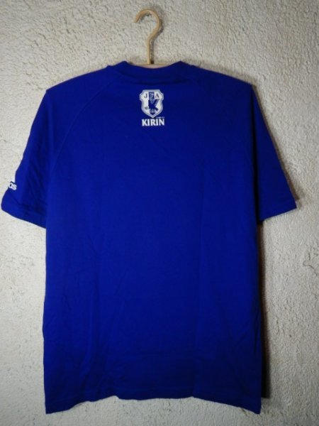 to2981 adidas KIRIN アディダス キリン 2002年 00s vintage ビンテージ tシャツ サッカー ボール ワールドカップ デザイン_画像8