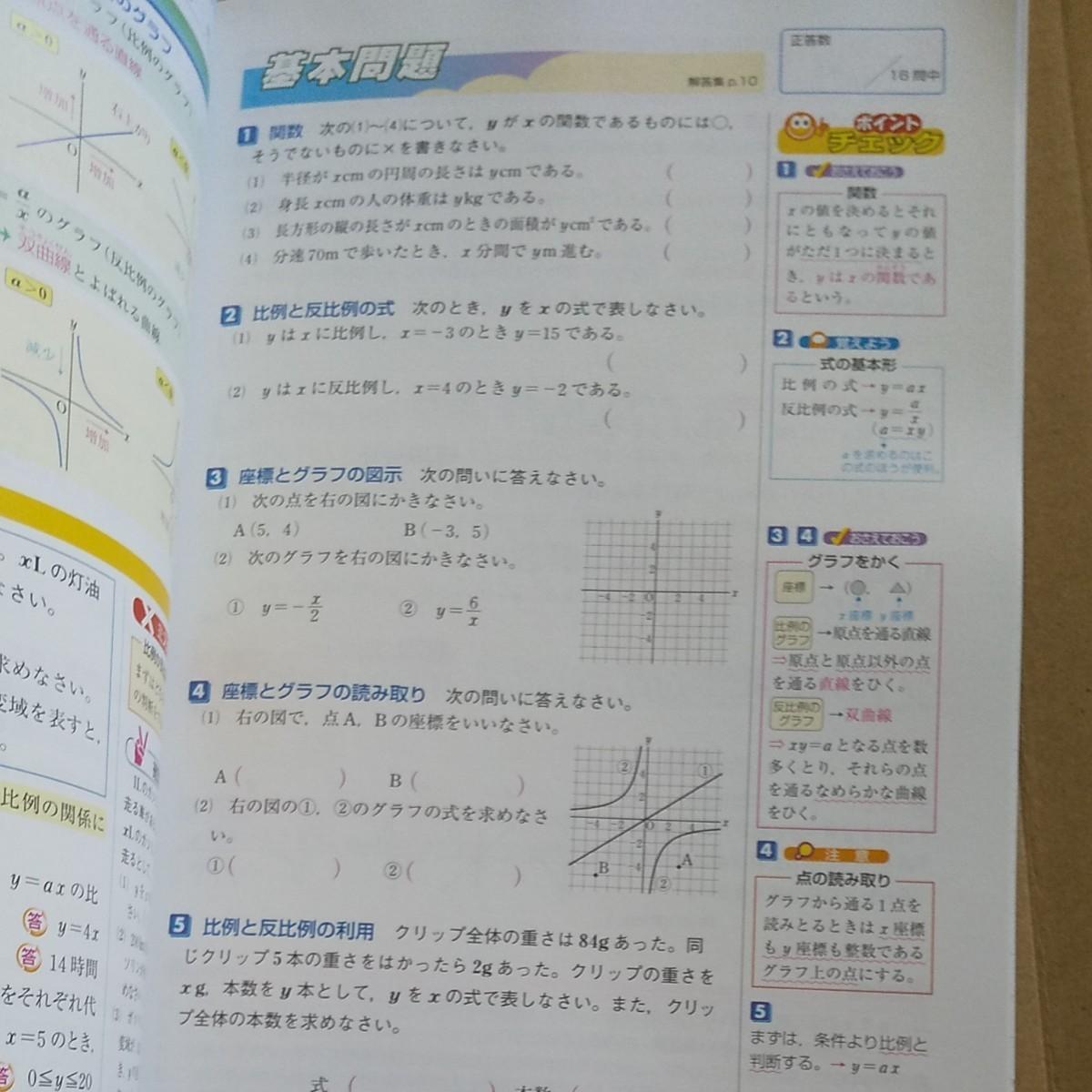 高校入試 問題集 英語、国語、数学 3冊