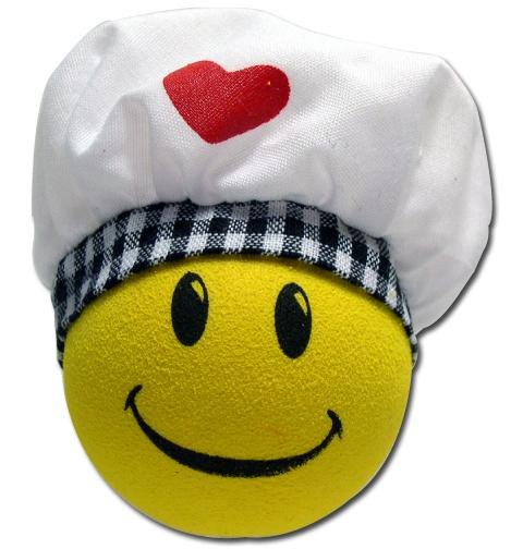 ハッピー シェフ アンテナボール アンテナトッパー 車 目印 料理人 コック バレンタイン USA アメ雑 【メール便OK】_画像1