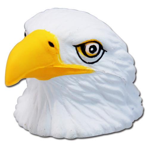 イーグル USA ロゴ レッド アンテナボール アンテナトッパー 車 目印 カスタム 猛禽類 鷲 鷹 赤 アメ雑 定形外_画像1