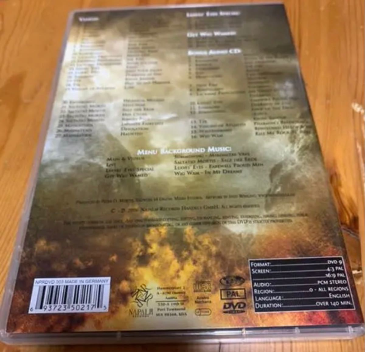 The Realm Of Napalm Records DVD+CD