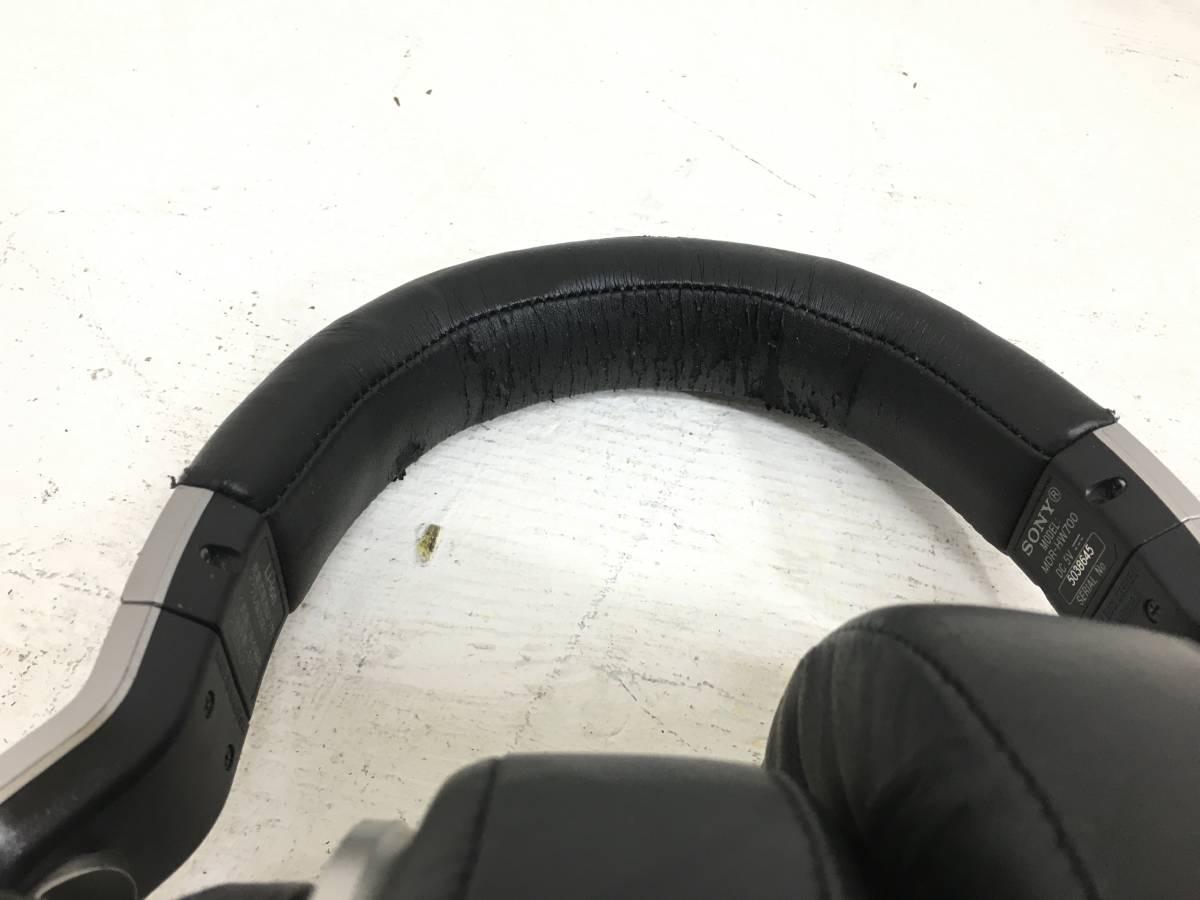 ○【通電確認済み!】【良品!】SONY ソニー MDR-HW700 9.1ch デジタルサラウンド 増設用 ヘッドホン ワイヤレス 061901_画像5