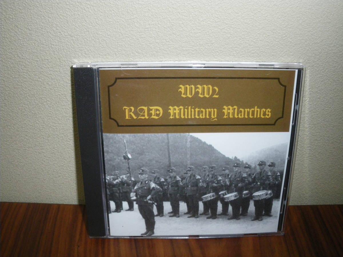 ドイツ軍歌 ドイツ行進曲 ナチス軍歌CD「WW2 RAD Military Marches」 海外版 ヘルムス・ニール指揮 ナチス党歌など_画像1