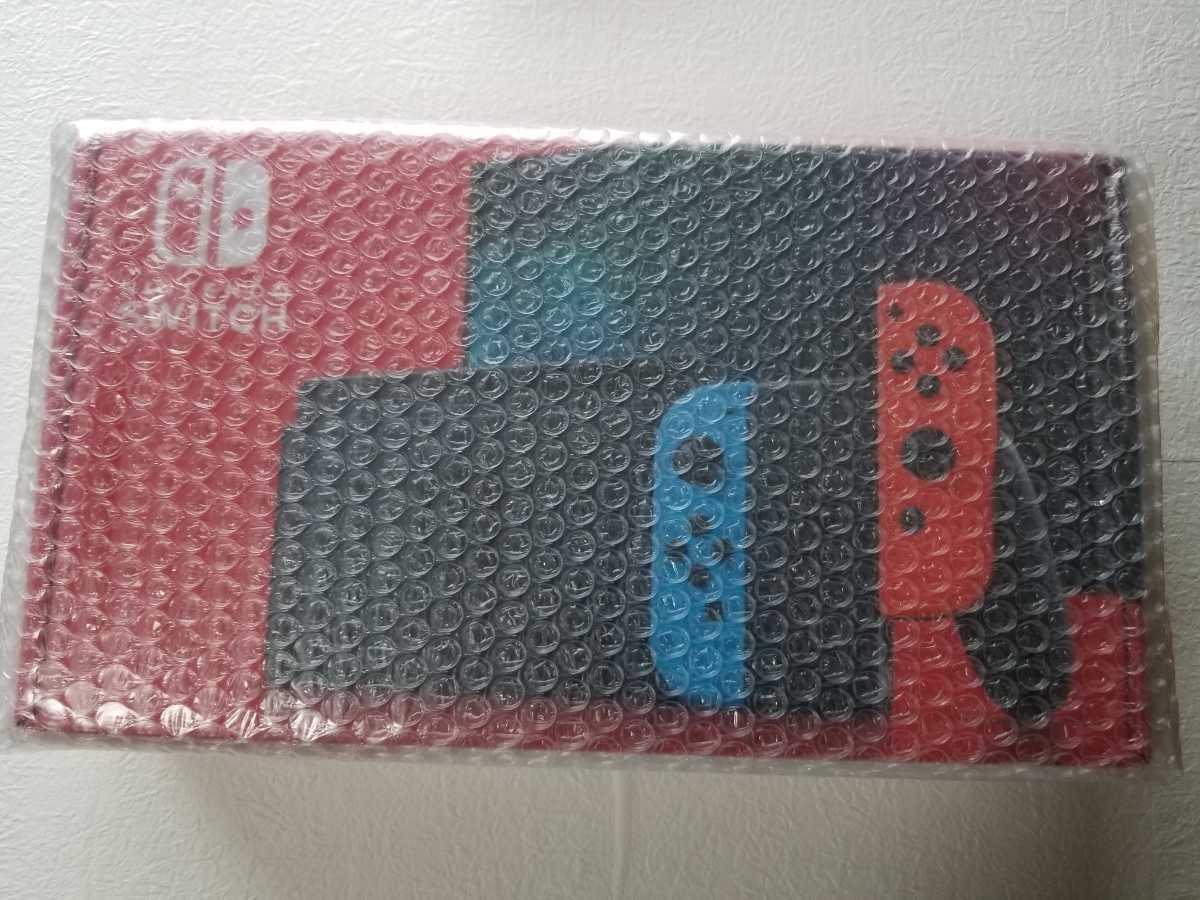 新品未開封!!任天堂 Nintendo Switch 本体 ( ニンテンドースイッチ ) Joy-Con(L) ネオンブルー/(R) ネオンレッド_画像3