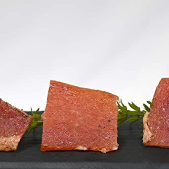 1袋 ポークジャーキー ジャーキー おつまみ 【旨みたっぷりなカナダ産の三元豚を使用】 サラミ 干し肉 ビーフジャーキー びーふ_画像5