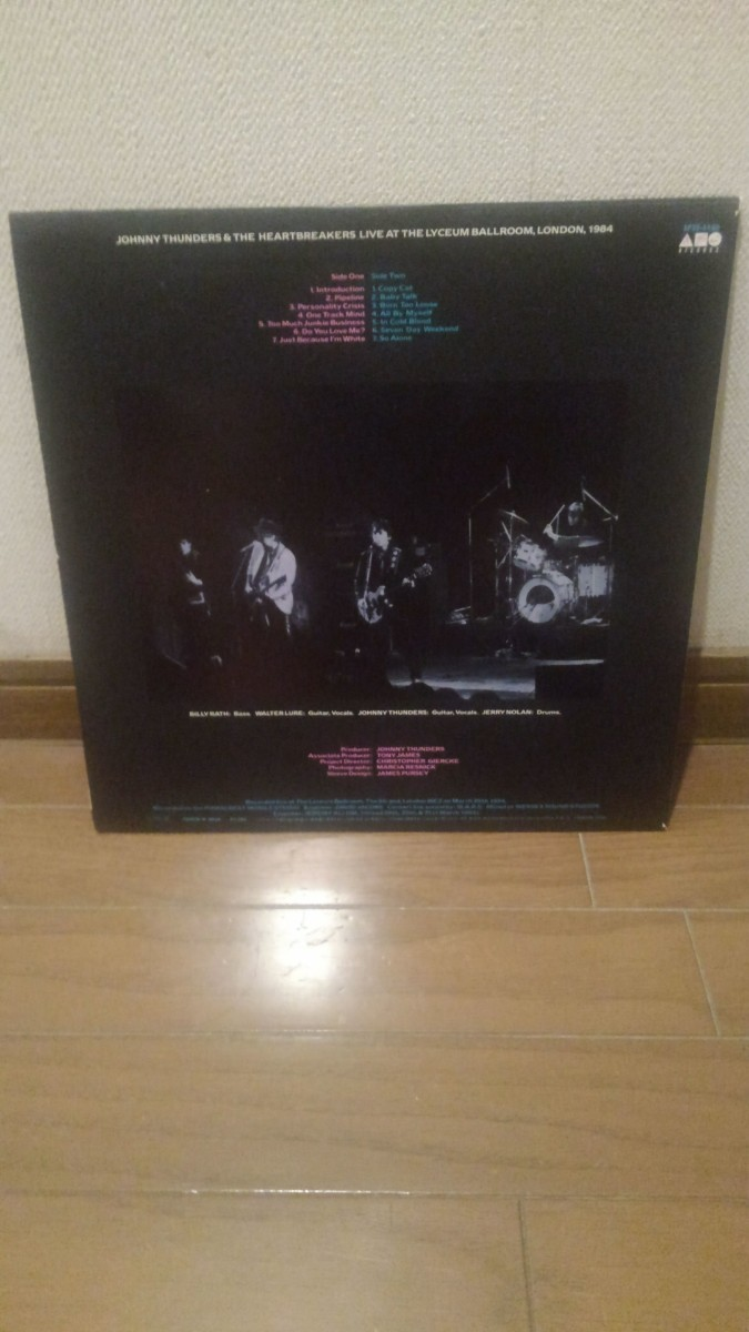 JOHNNY THUNDERS & THE HEARTBREAKERS-Live At The Lyceum Ballr