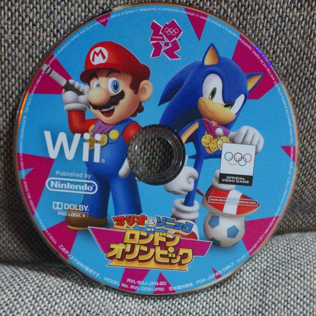 マリオ&ソニック ロンドンオリンピック   Wii