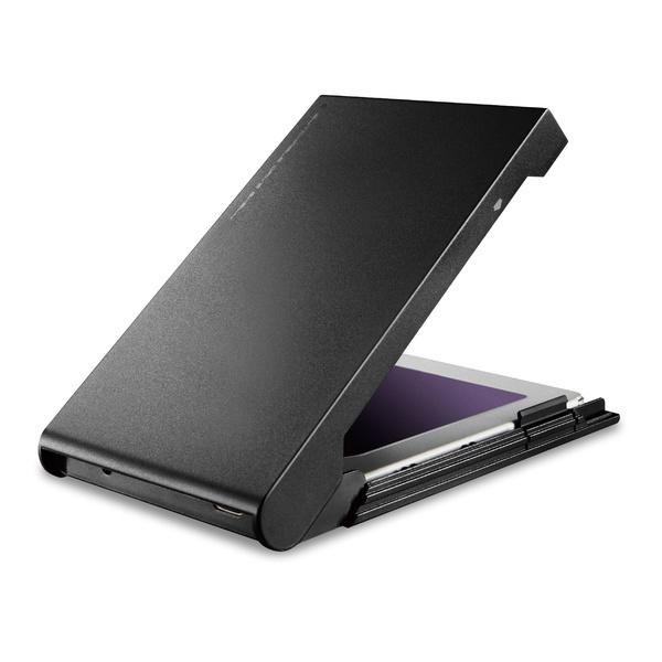 ネジや工具は不要! USB3.2 Gen1 Type-C接続 2.5インチ HDD/SSD対応 外付けケース : HDDコピーソフト付モデル : LGB-PBSUCS_画像1
