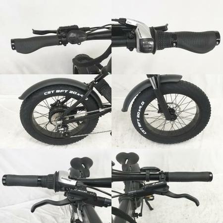 """【引取限定】MATE X 250+ 電動折りたたみ自転車 20×4"""" ファットバイク 中古 W5651470_画像5"""