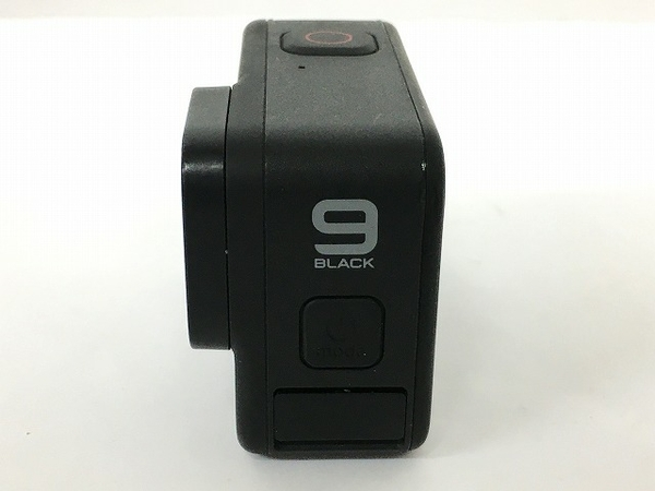 GoPro HERO9 アクションカメラ AFAEM-001 アタッチメント付 中古 T5696469_画像9