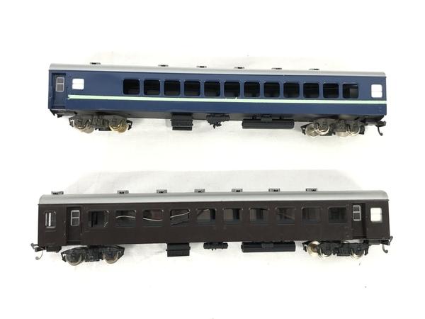 HOWA ナロ 10 青 茶 2両 HOゲージ 鉄道模型 ジャンク S5705107_画像5