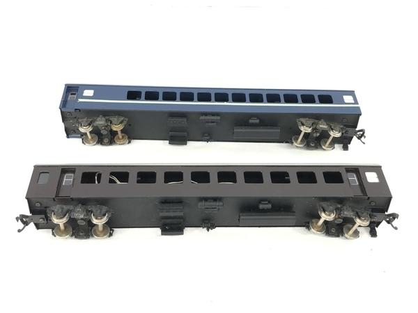 HOWA ナロ 10 青 茶 2両 HOゲージ 鉄道模型 ジャンク S5705107_画像6