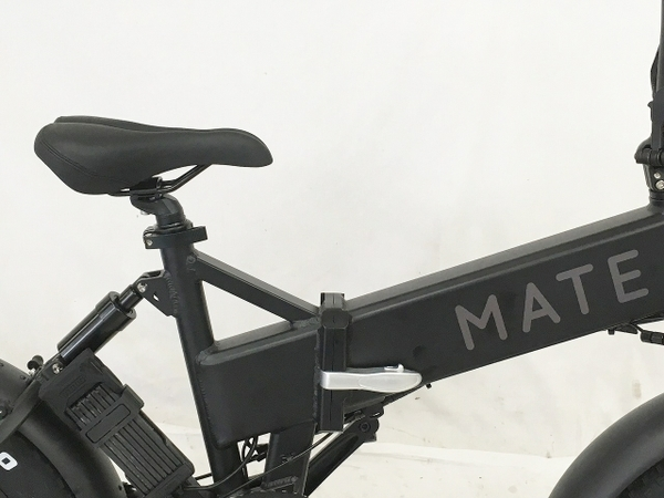 """【引取限定】MATE X 250+ 電動折りたたみ自転車 20×4"""" ファットバイク 中古 W5651470_画像8"""