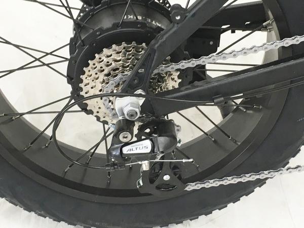 """【引取限定】MATE X 250+ 電動折りたたみ自転車 20×4"""" ファットバイク 中古 W5651470_画像9"""