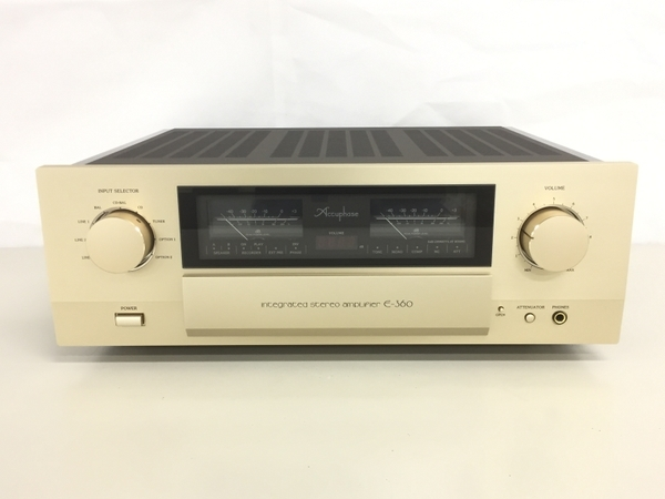 Accuphase E360 プリメイン アンプ 中古 良好 K5722815_画像1