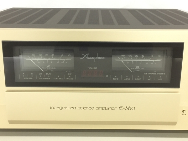 Accuphase E360 プリメイン アンプ 中古 良好 K5722815_画像4