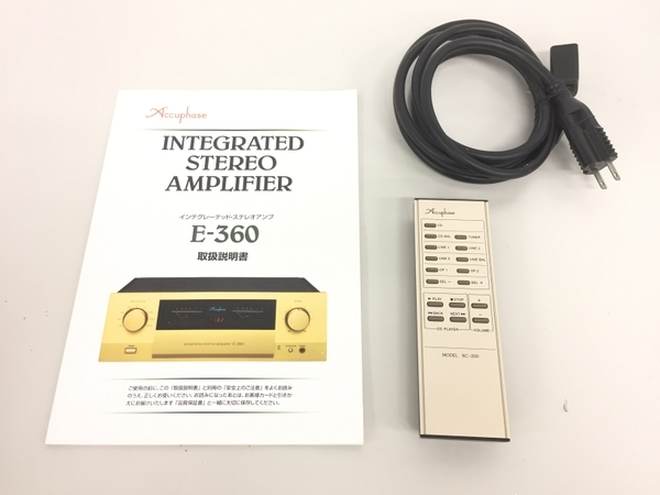 Accuphase E360 プリメイン アンプ 中古 良好 K5722815_画像2