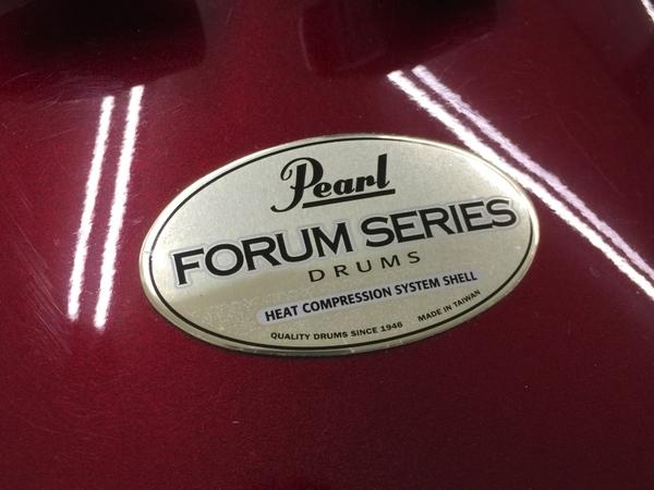 【引取限定】PEARL Forum Series ドラムセット 打楽器 ジャンク 直 Y5642569_画像9