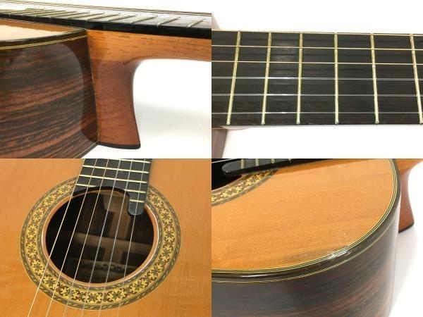 Ryoji Matsuoka T30 松岡良治 ガット ギター クラシックギター 1977 訳有 Y5667852_画像10