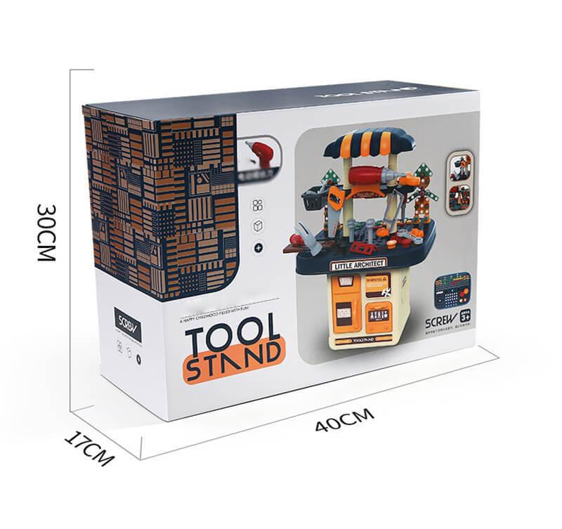 おもちゃ 工具セット 電動ドライバー 全386点セット 男の子 女の子 知育 大工さん 子供 幼児 おままごと 収納 知育玩具 収納sp402_画像8
