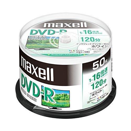 新品1) 本体のみ WEB限定モデル maxell 録画用 (1回録画用) CPRM対応 DVD-R 120分 16EOMT_画像1