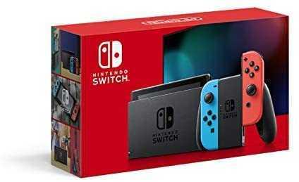 Nintendo Switch 本体 (ニンテンドースイッチ) Joy-Con(L) ネオンブルー/(R) ネオンレッド_画像1