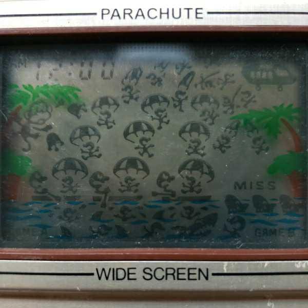 ゲームウォッチ GAME&WATCH Nintendo 任天堂 ニンテンドー 当時物 パラシュート