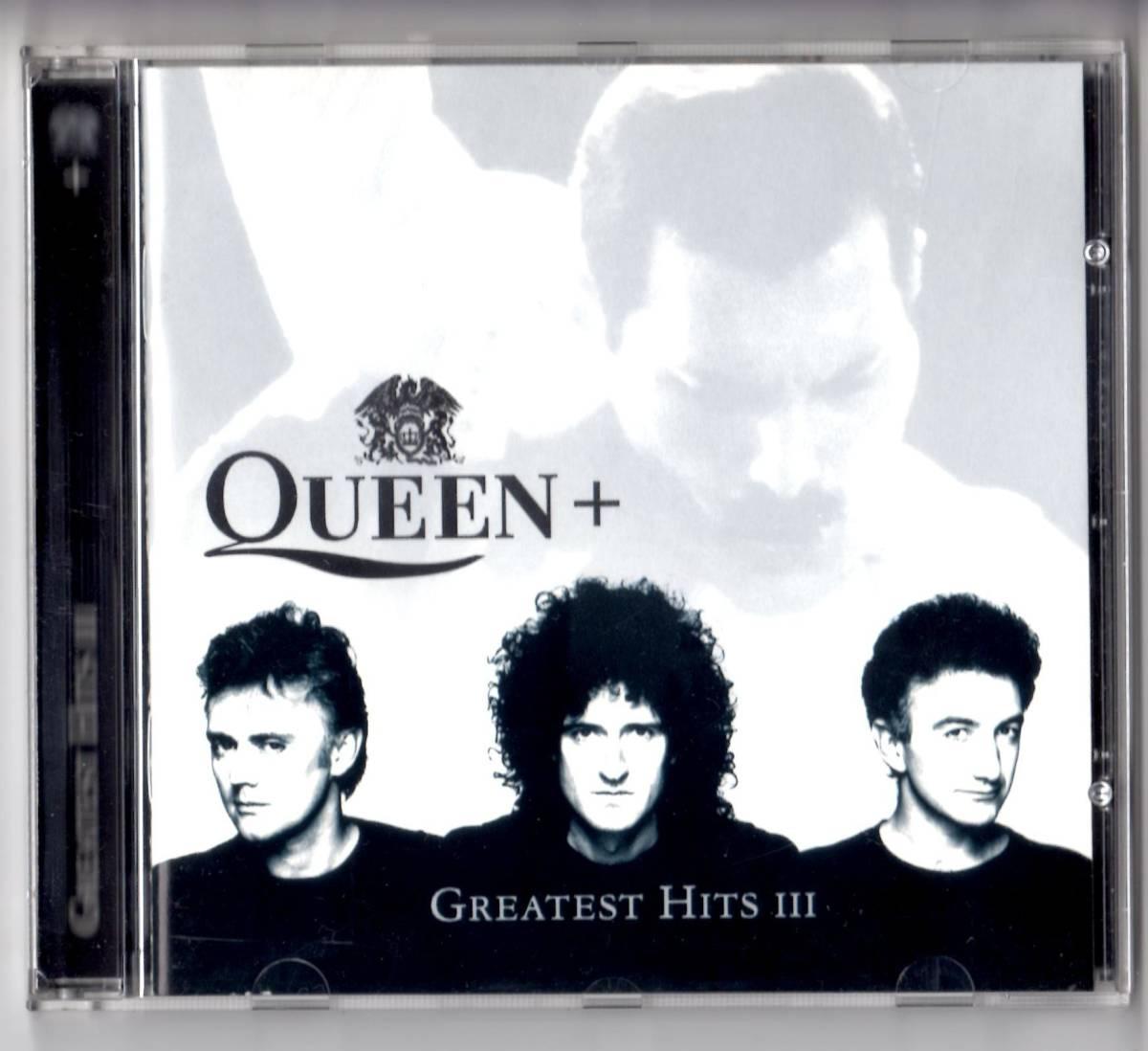 Used CD 輸入盤 クイーン Queen『グレイテスト・ヒッツ 3 III ~フレディー・マーキュリーに捧ぐ~』(Queen+ GREATEST HITS III)1999年