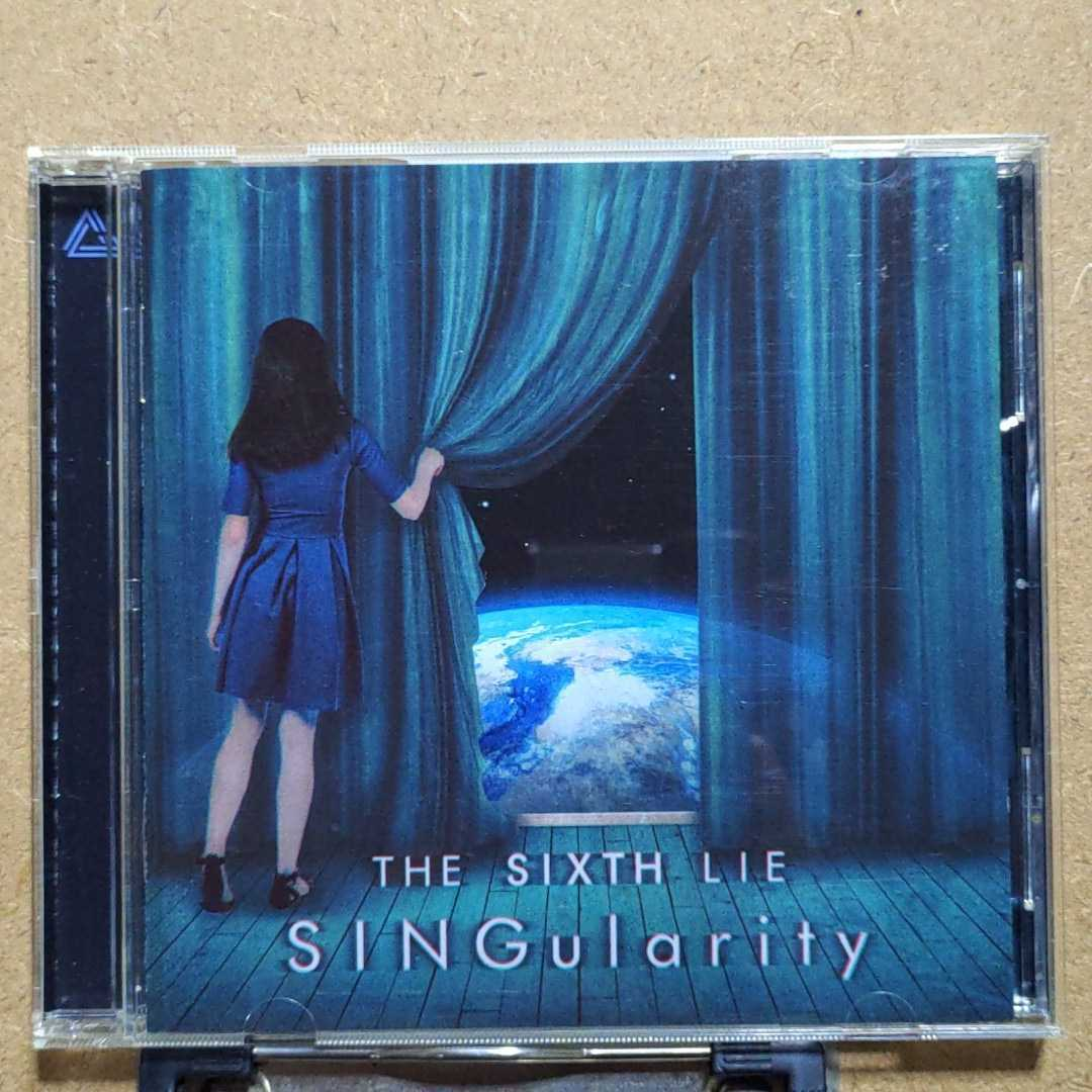 THE SIXTH LIE「SINGularity [ENGLISH EDITION]」輸入盤CD One More Spark When You Forget Io on Fall in the Sky Come back to My Dreams