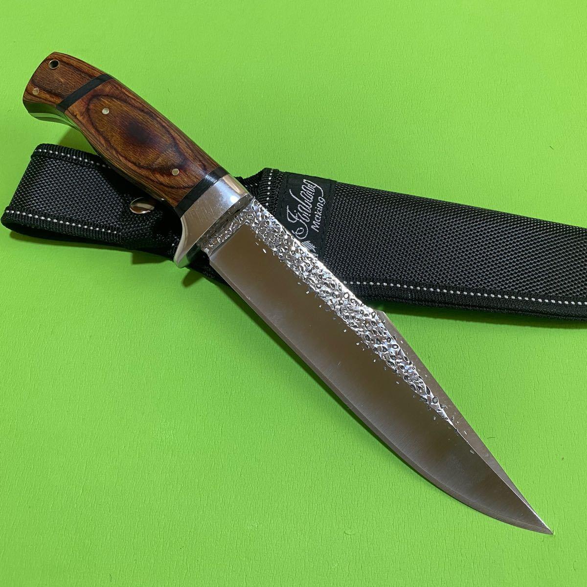 キャンプ サバイバル ナイフ バーベキュー 料理 包丁 フィッシング 工具 刃物