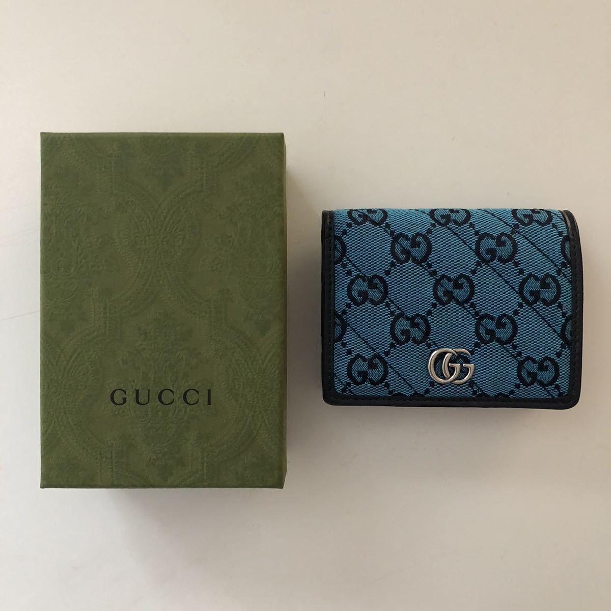 GUCCI グッチ 二つ折り財布_画像1