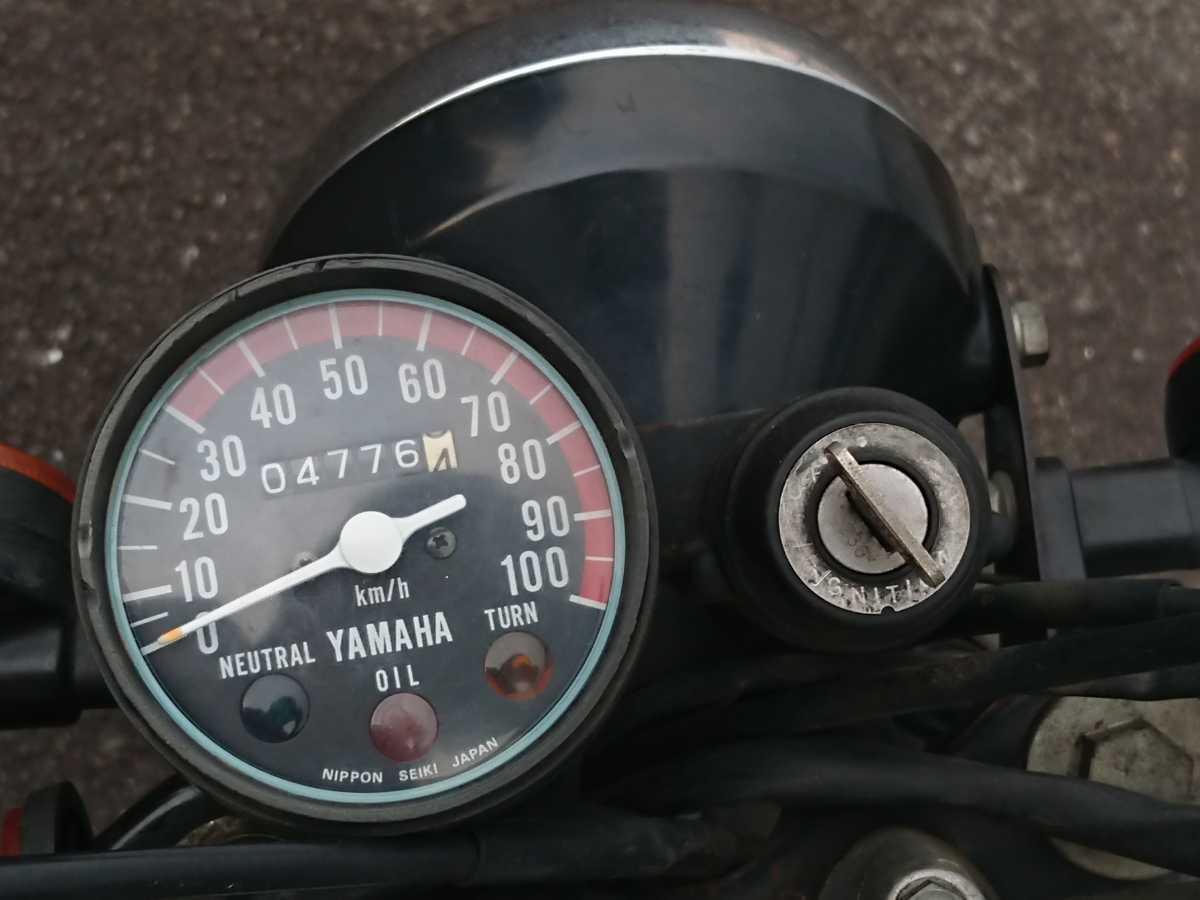 希少車♪低走行♪状態良好♪ヤマハ ミニトレ GT50 3M7 検)GT80 FT1 mr50 モンキー ゴリラ ダックス カブ_走行距離は少なめです
