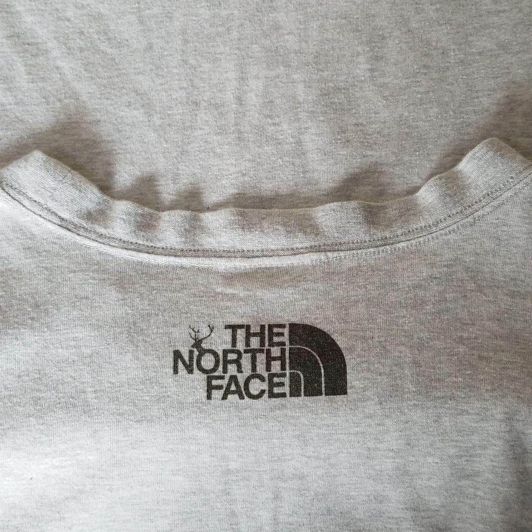THE NORTH FACE ザ ノースフェイス 長袖Tシャツ グレー XLサイズ