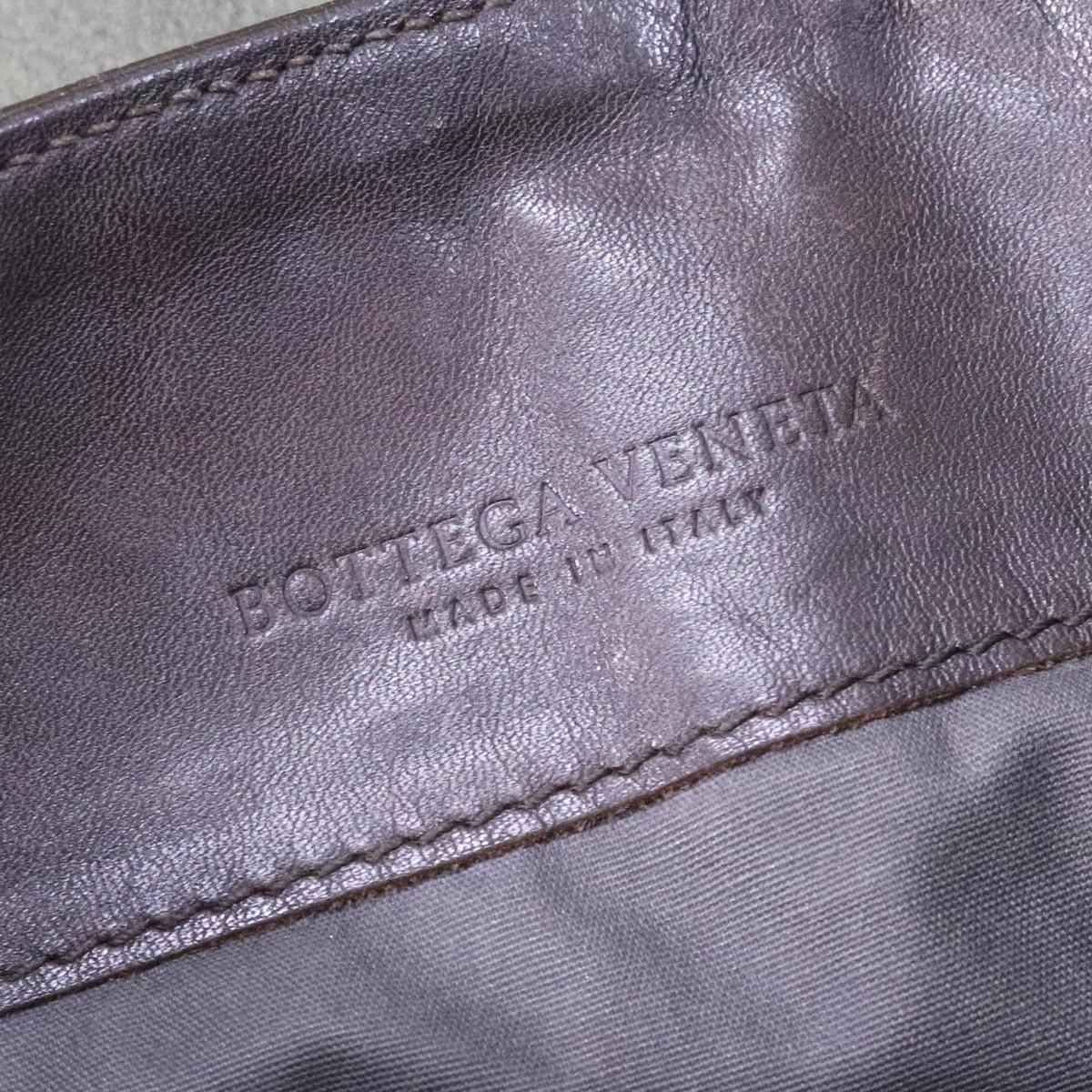 本物 ボッテガヴェネタ 最高級イントレチャートレザー メンズクロスボディバッグ 斜め掛けショルダーバッグ BOTTEGA VENETA_画像8