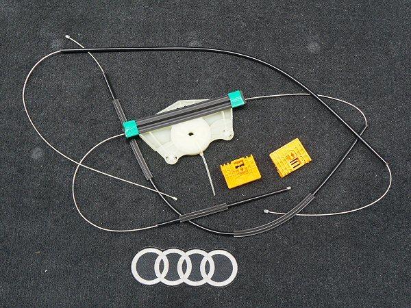 新品 アウディ A4 S4 RS4 B6 B7 8E パワー ウインドウ レギュレーター 前左 フロント 助手席側 Audi_画像1