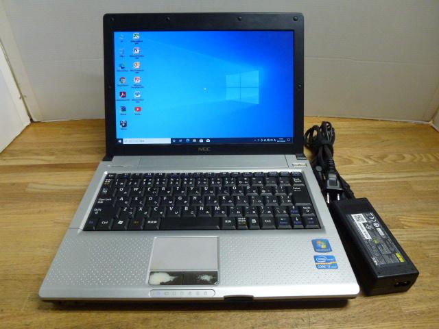 i7搭載 持ち運びに便利 NEC VK17HB-D Core i7 2637M 1.7GHz HDD250GB メモリ4GB 無線LAN MS Office2010搭載 ④
