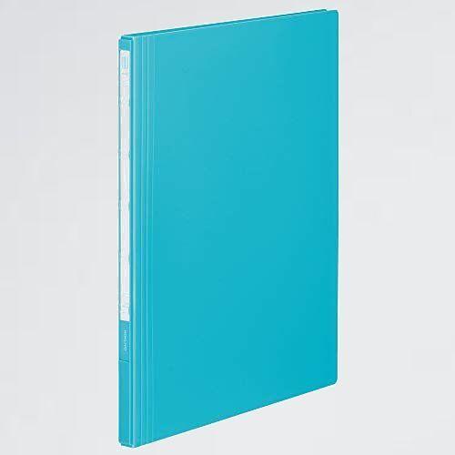 未使用 新品 ファイル コクヨ 3-XG タ-コイズブル- ラ-NE20B クリアファイル NEOS 固定式 A4 縦 20枚ポケット_画像1